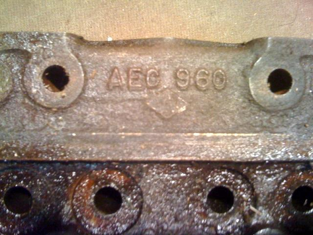 early BN1 cylinder head